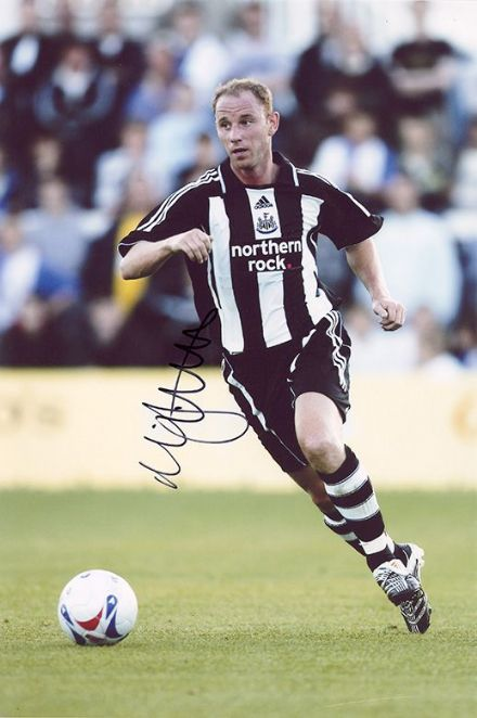 Nicky Butt, Newcastle Utd & England, signed 12x8 inch photo.